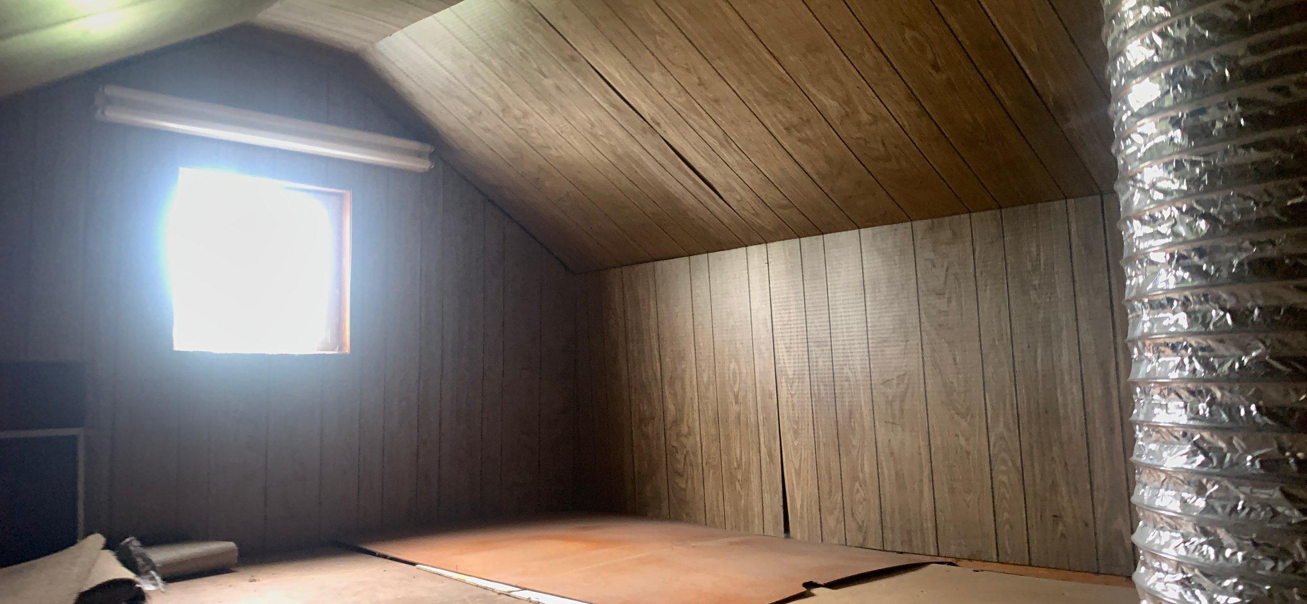 20x12 Attic self storage unit