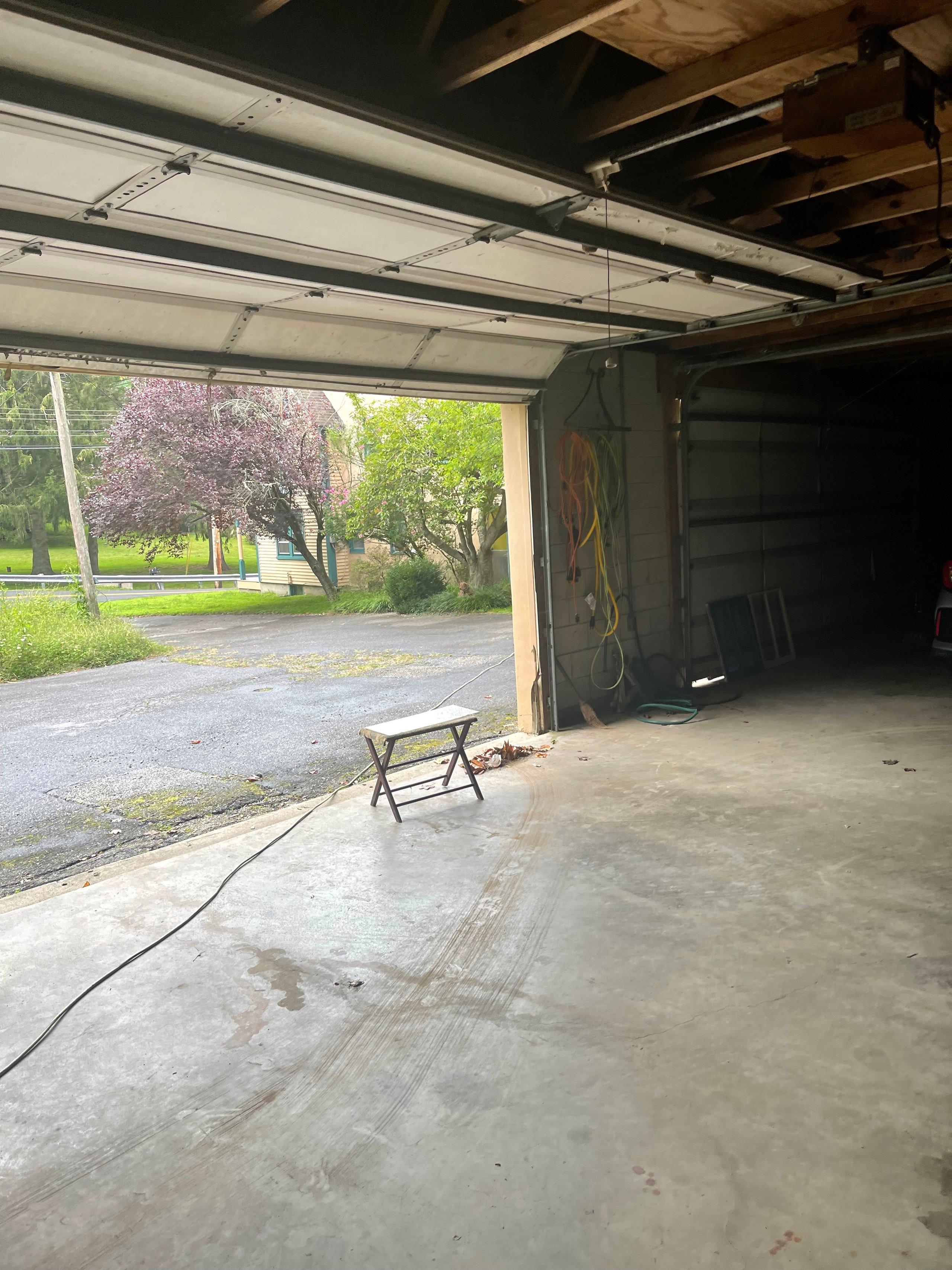 15x22 Garage self storage unit