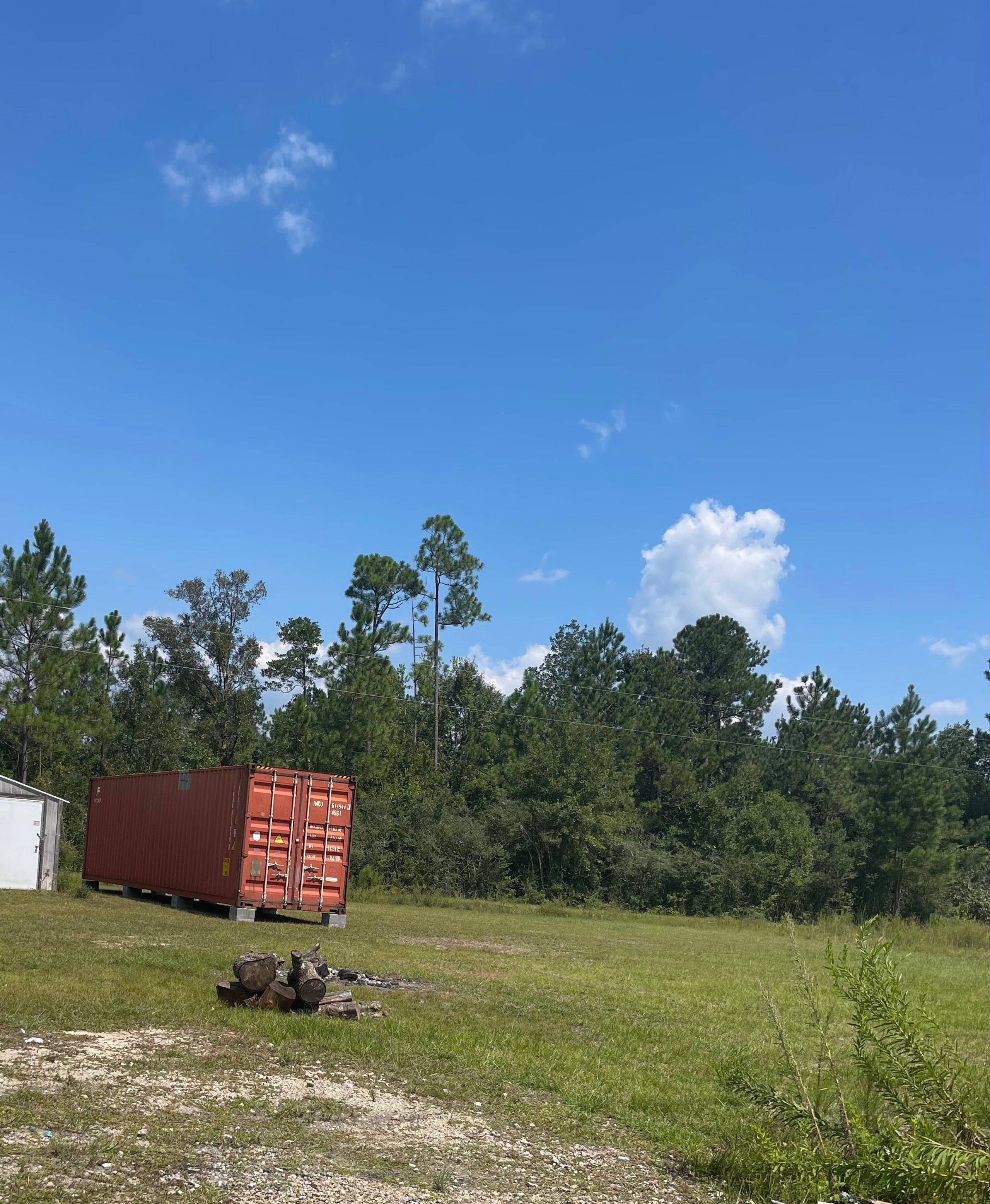10x40 Unpaved Lot self storage unit