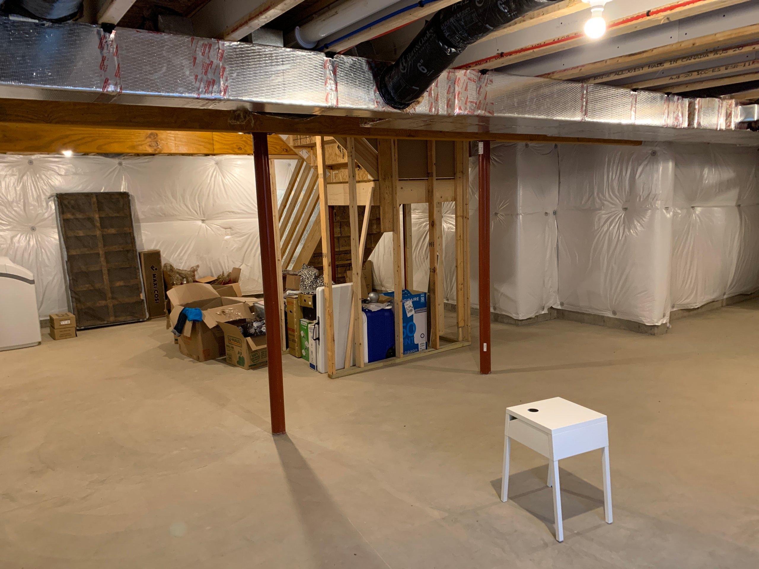 45x20 Basement self storage unit