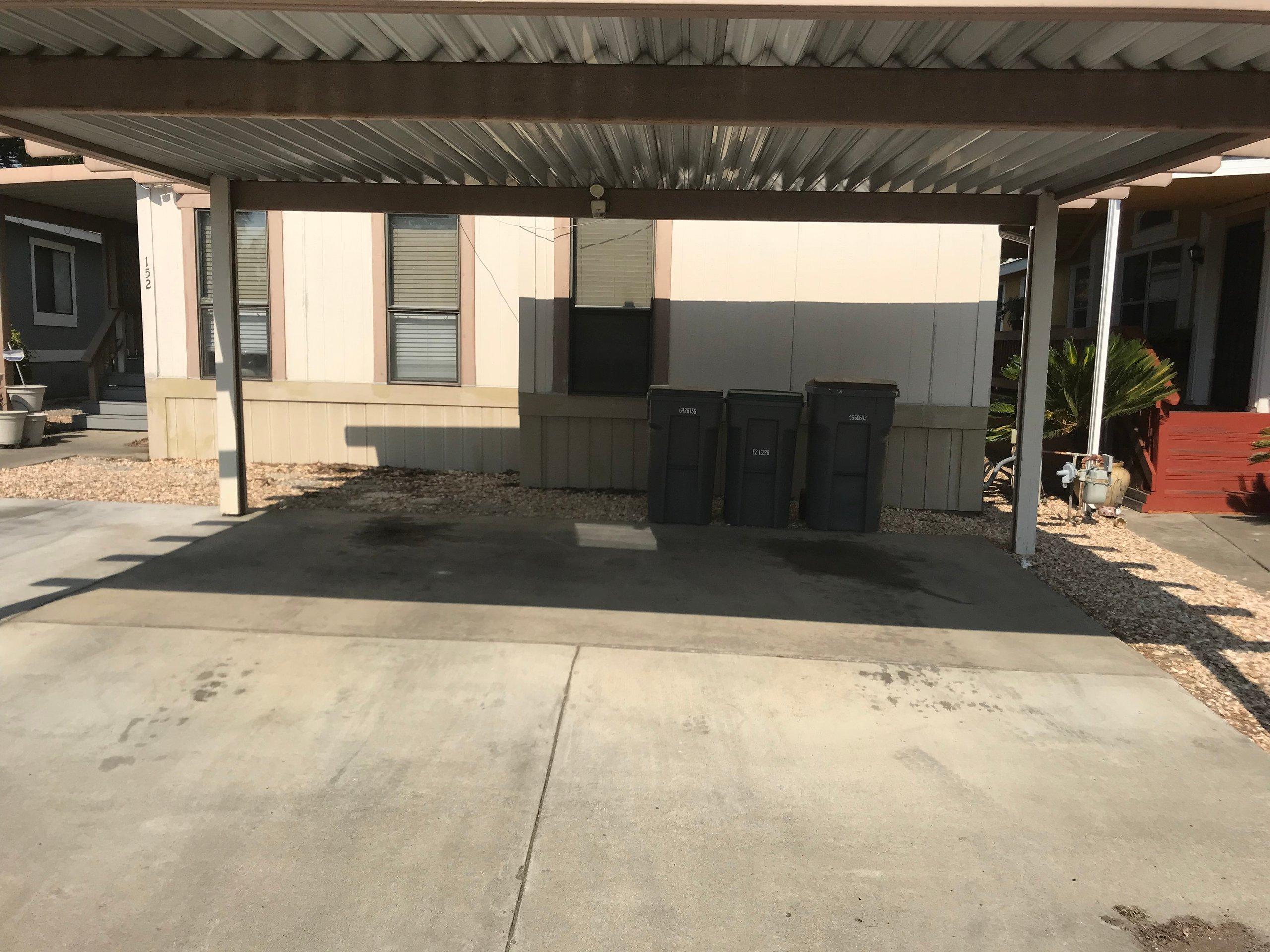 25x15 Carport self storage unit