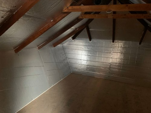 13x10 Attic self storage unit