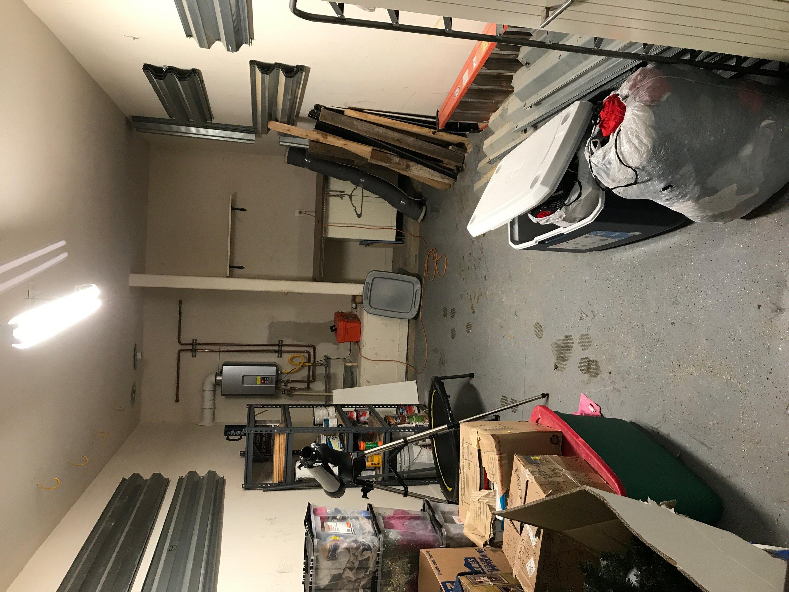 19x17 Garage self storage unit