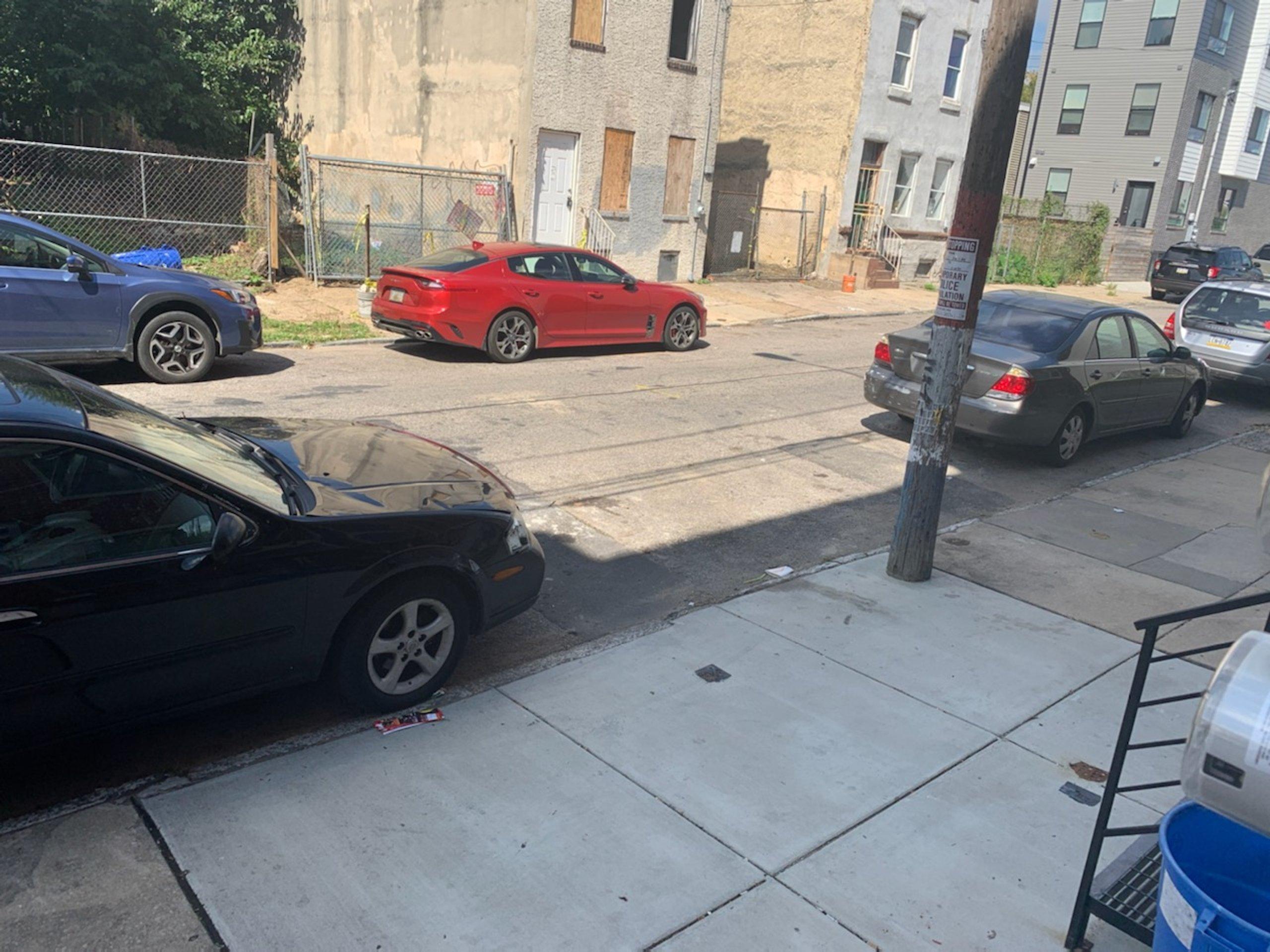 45x10 Street Parking self storage unit