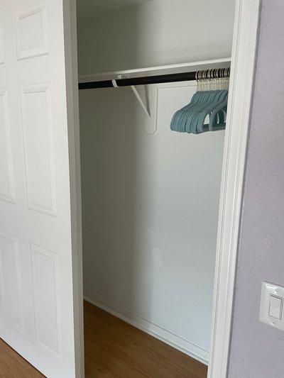 11x9 Bedroom self storage unit