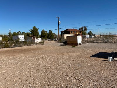 80x80 Unpaved Lot self storage unit