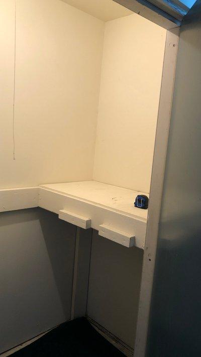 6x3 Closet self storage unit