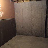 12x7 Basement self storage unit