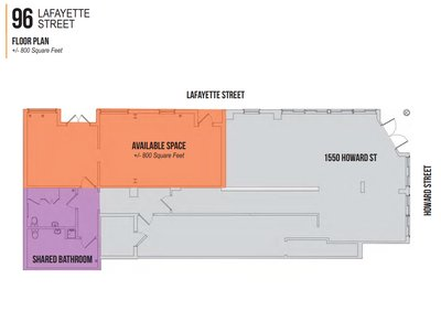 10x80 Warehouse self storage unit