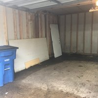 10x20 Garage self storage unit