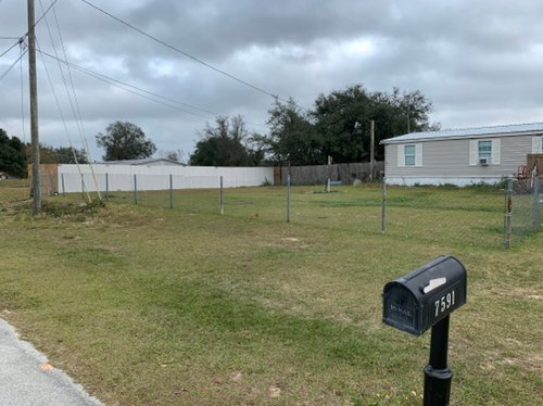 40x40 Unpaved Lot self storage unit