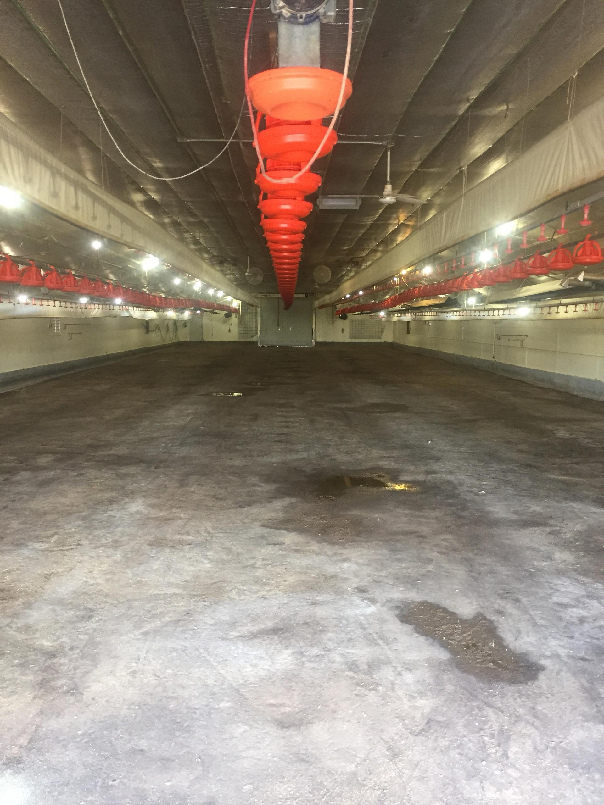 64x134 Warehouse self storage unit