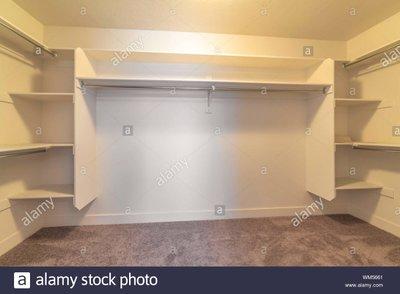 10x10 Closet self storage unit