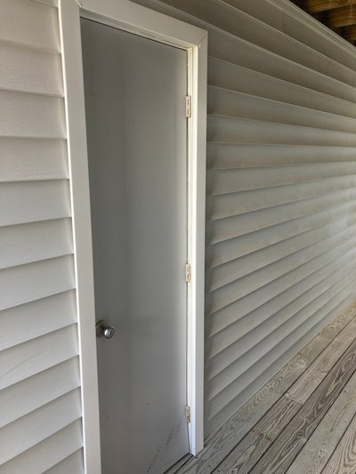 4x3 Closet self storage unit