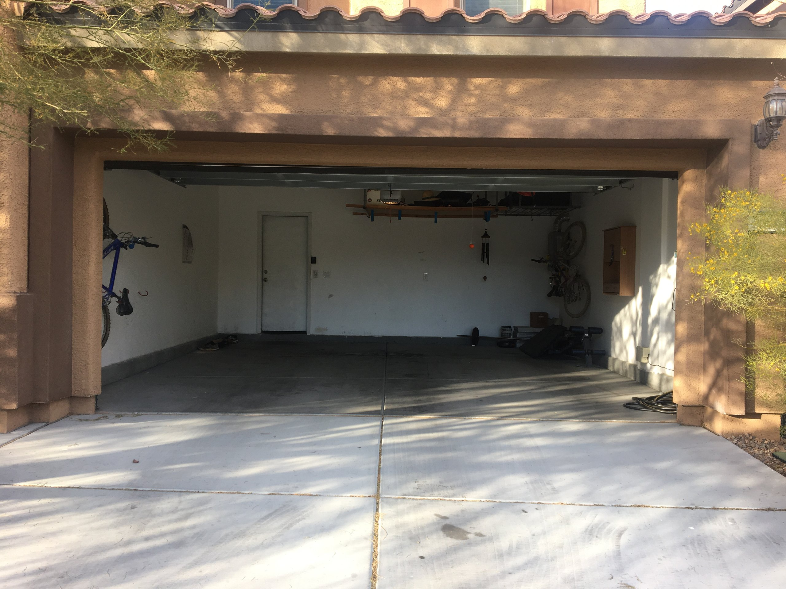 24x16 Garage self storage unit