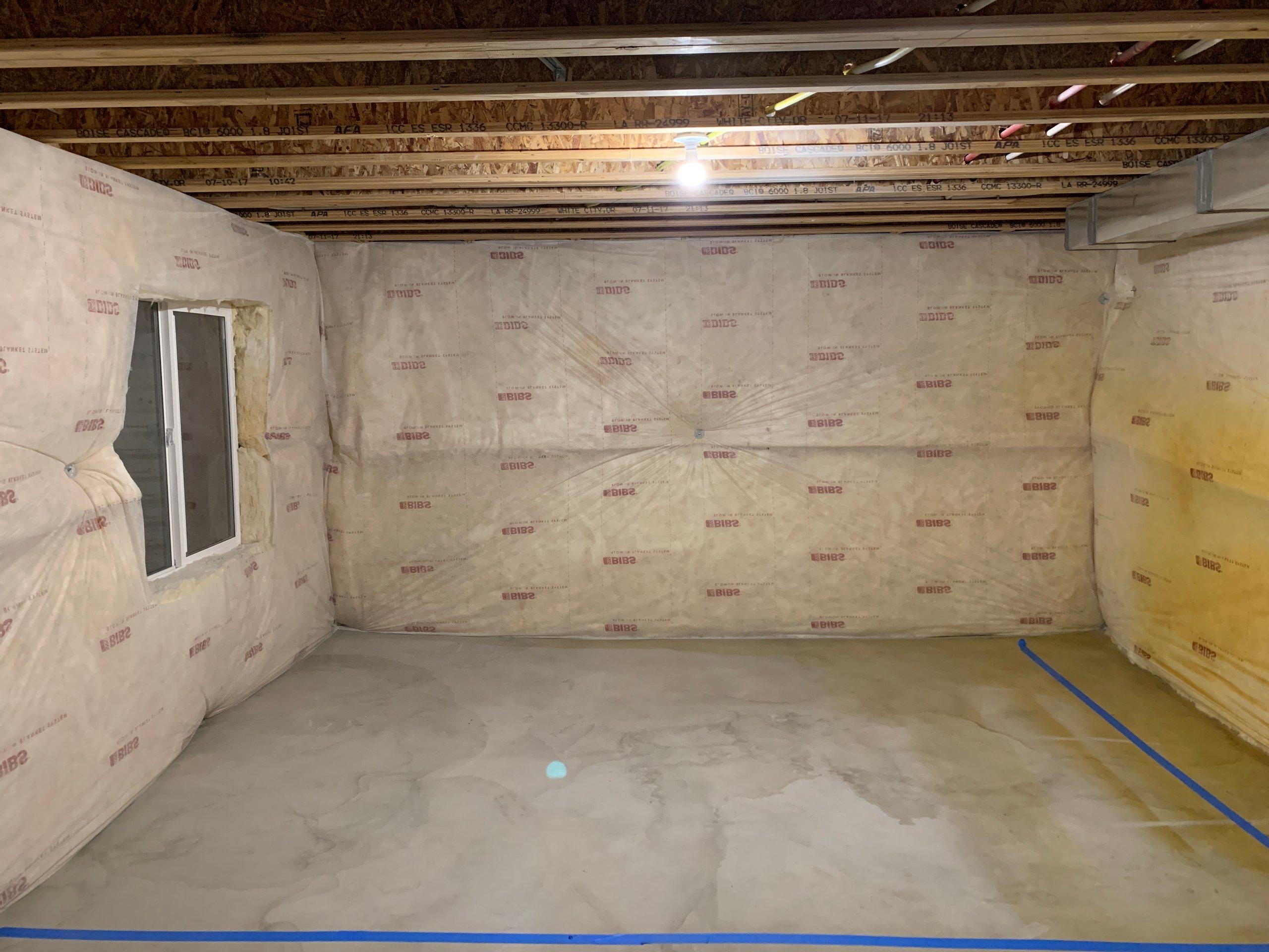 10x13 Basement self storage unit
