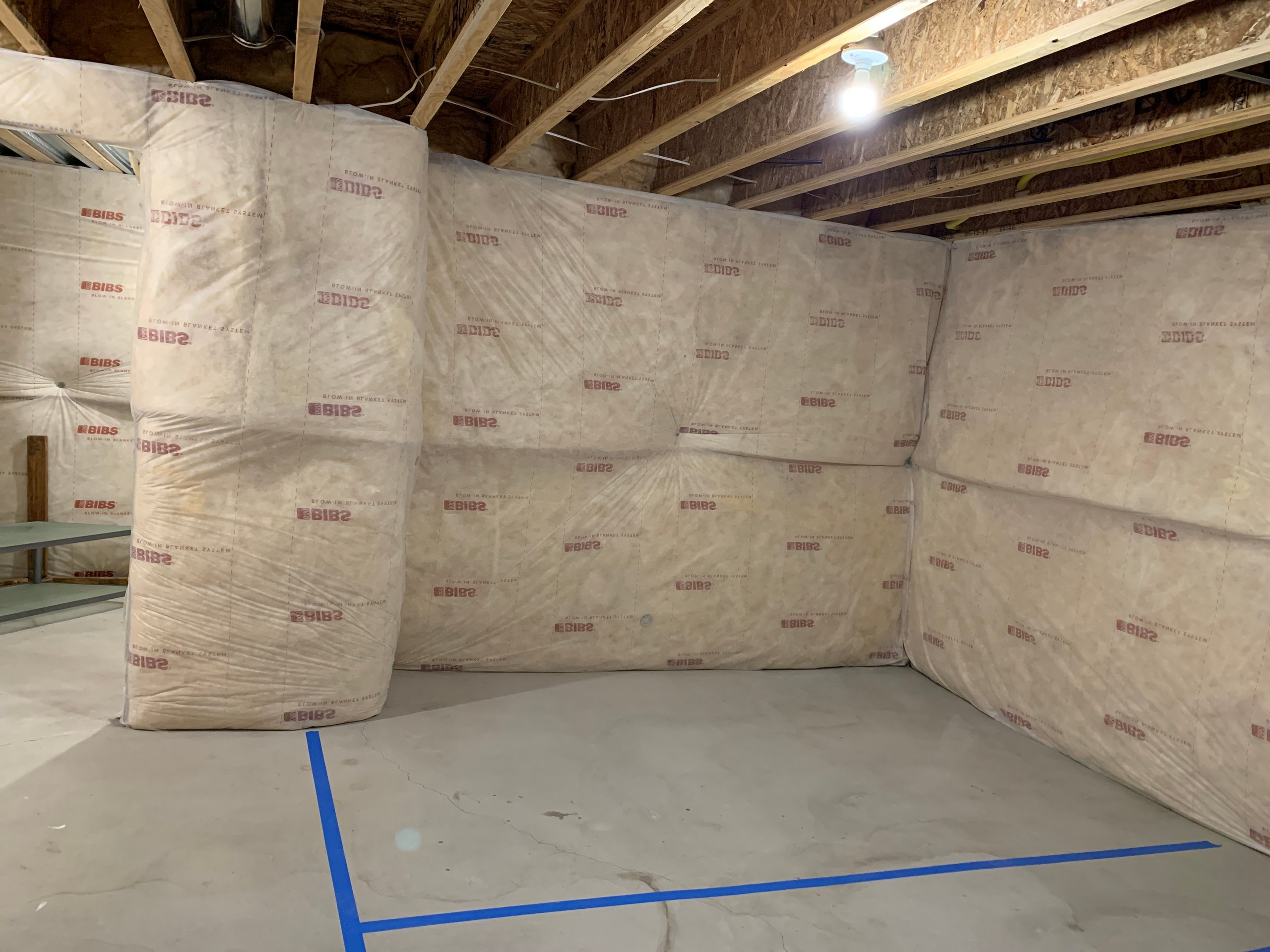 10x6 Basement self storage unit