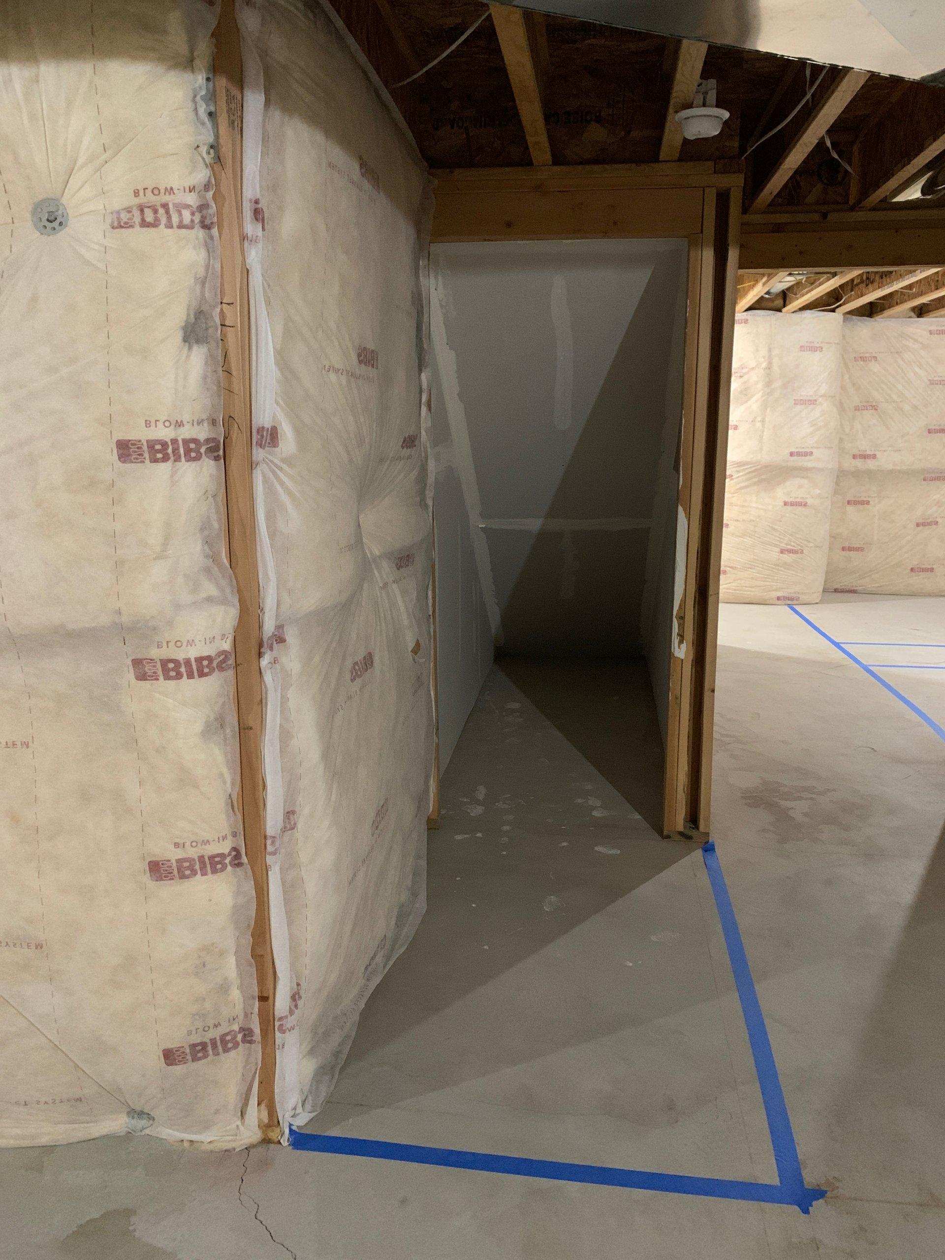 14x4 Basement self storage unit