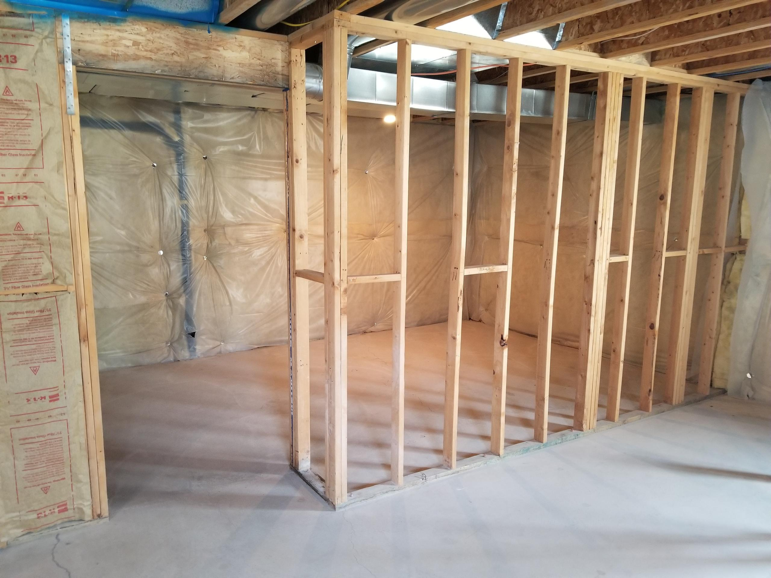 50x50 Basement self storage unit