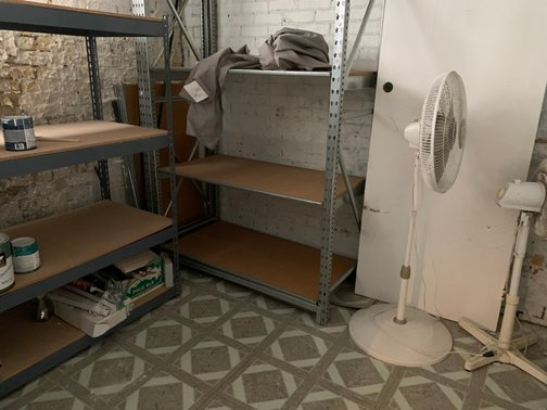 21x19 Basement self storage unit