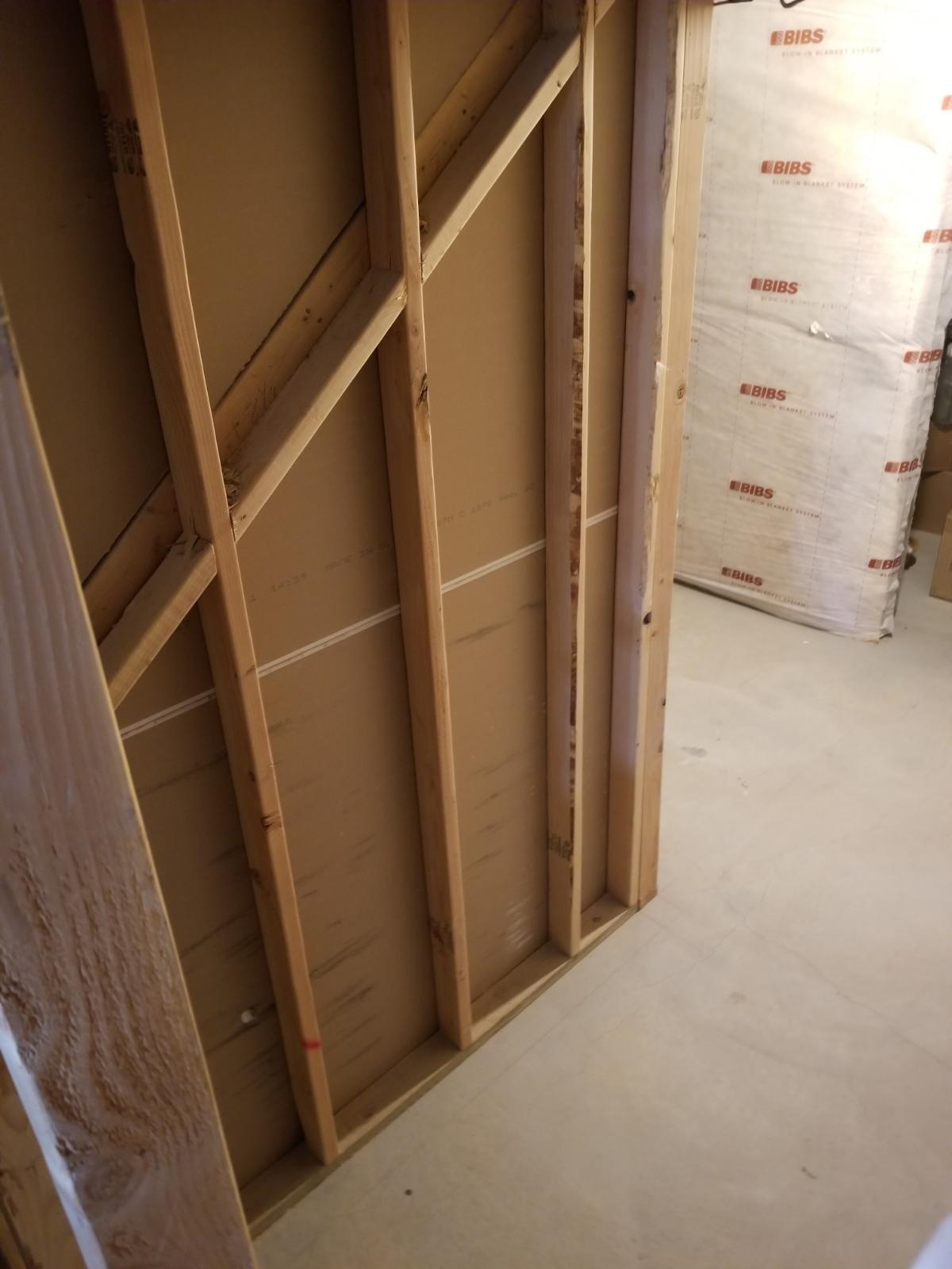 6x4 Basement self storage unit