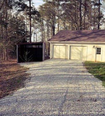 22x8 Garage self storage unit