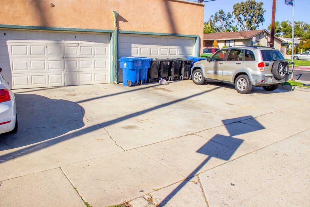 12x9 Driveway self storage unit