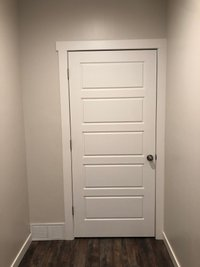 7x5 Closet self storage unit