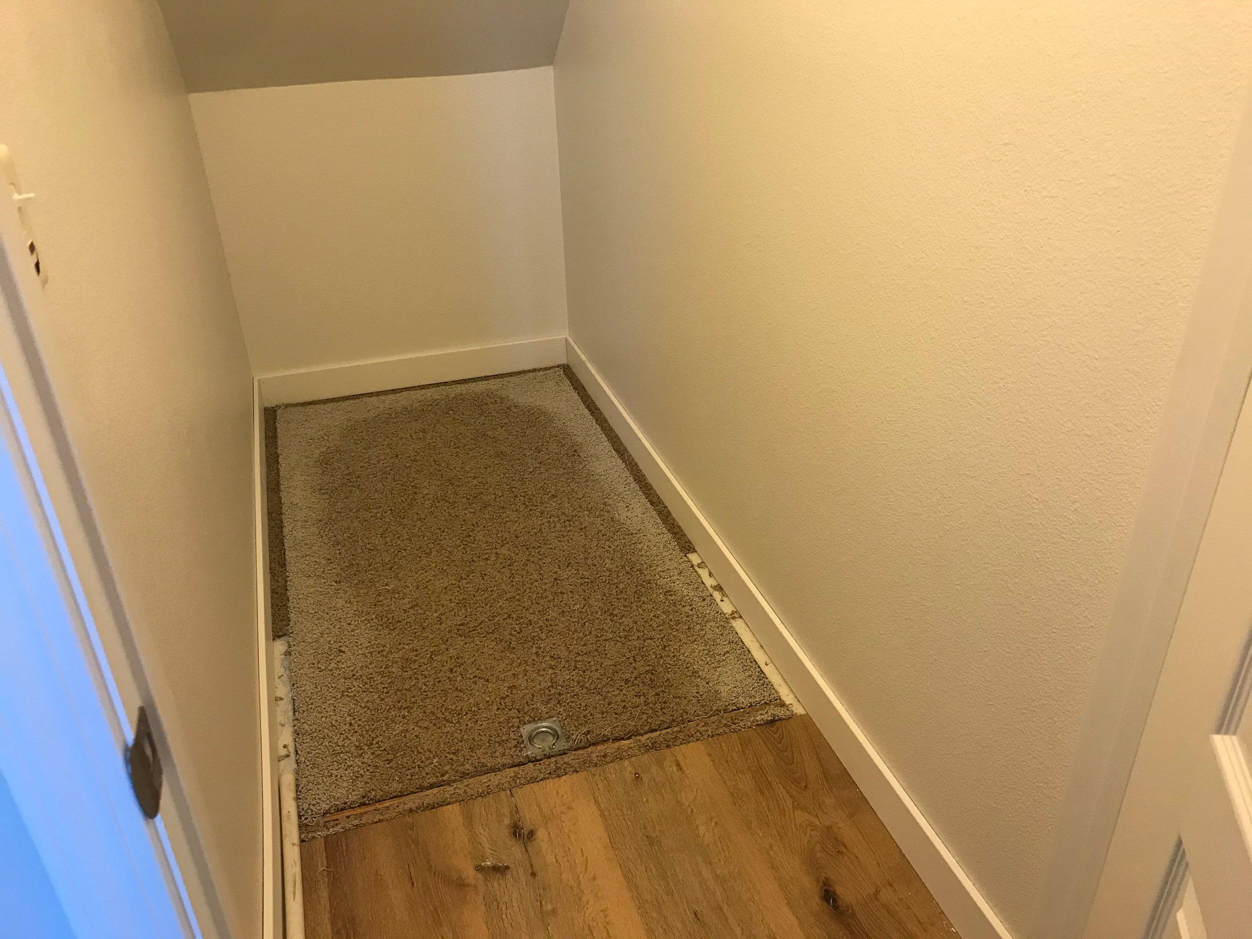 7x16 Basement self storage unit