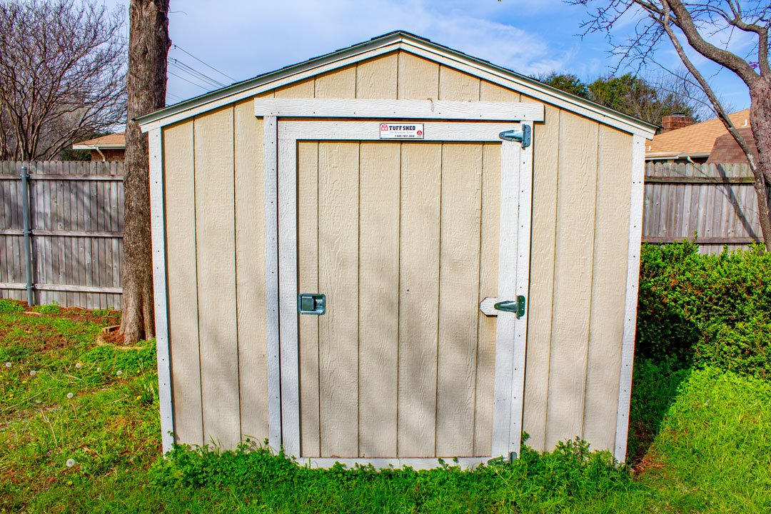 7x5 Unpaved Lot self storage unit