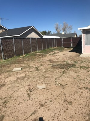 10x35 Unpaved Lot self storage unit