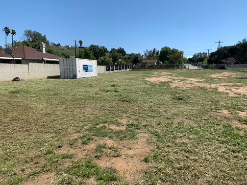 10x24 Unpaved Lot self storage unit
