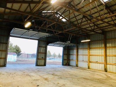 45x36 Warehouse self storage unit