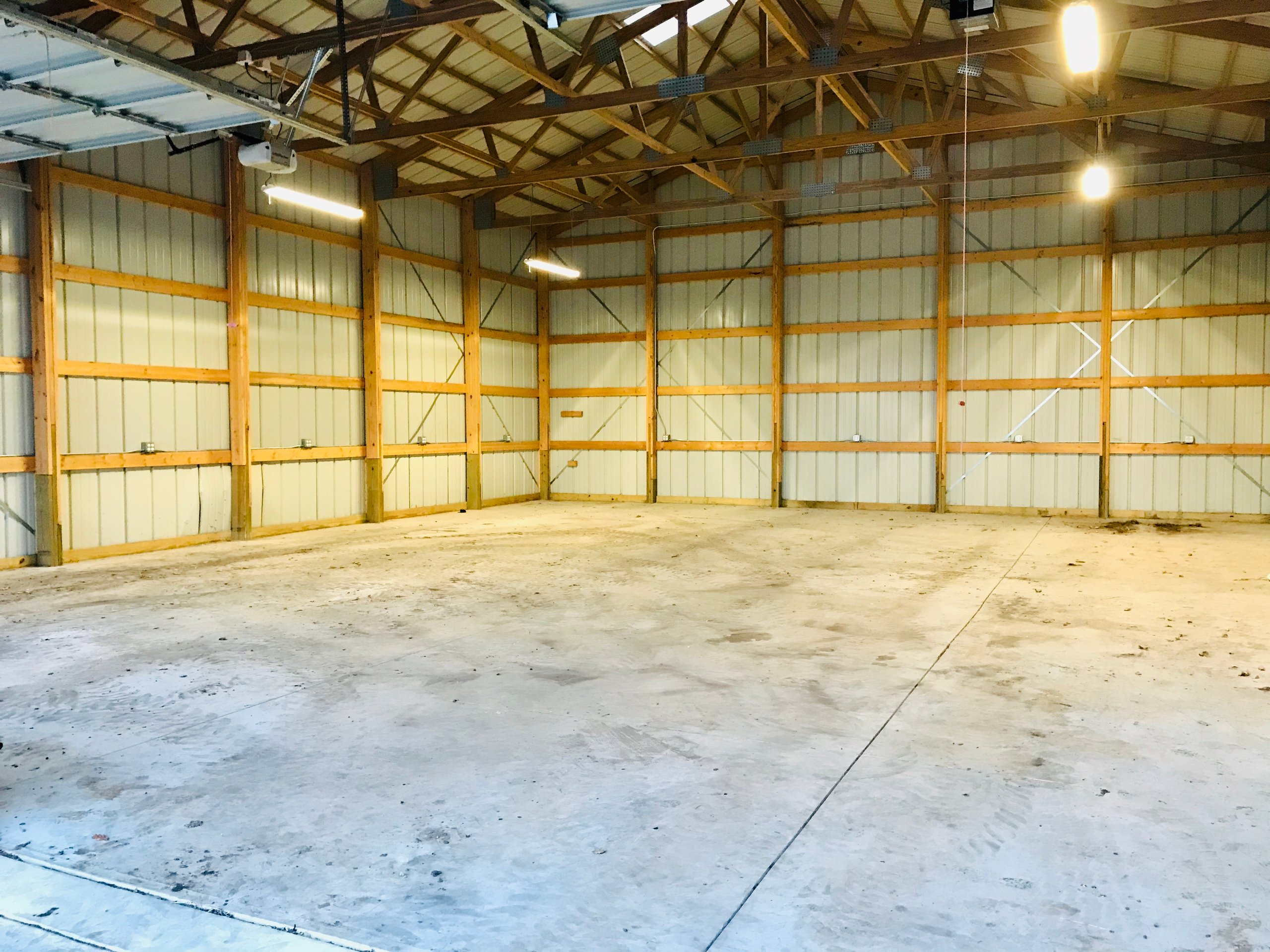 45x36 Warehouse self storage unit