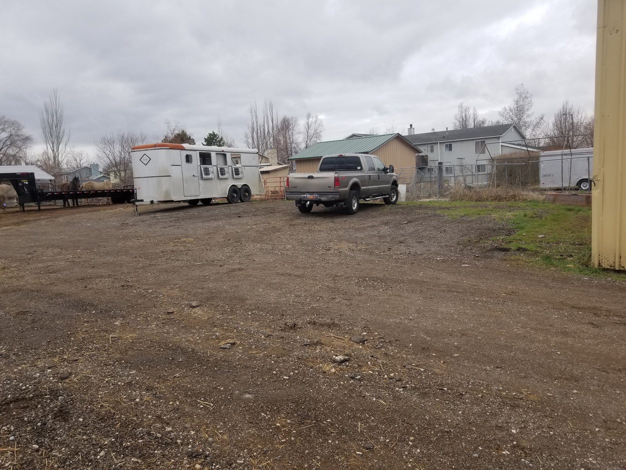 40x11 Driveway self storage unit