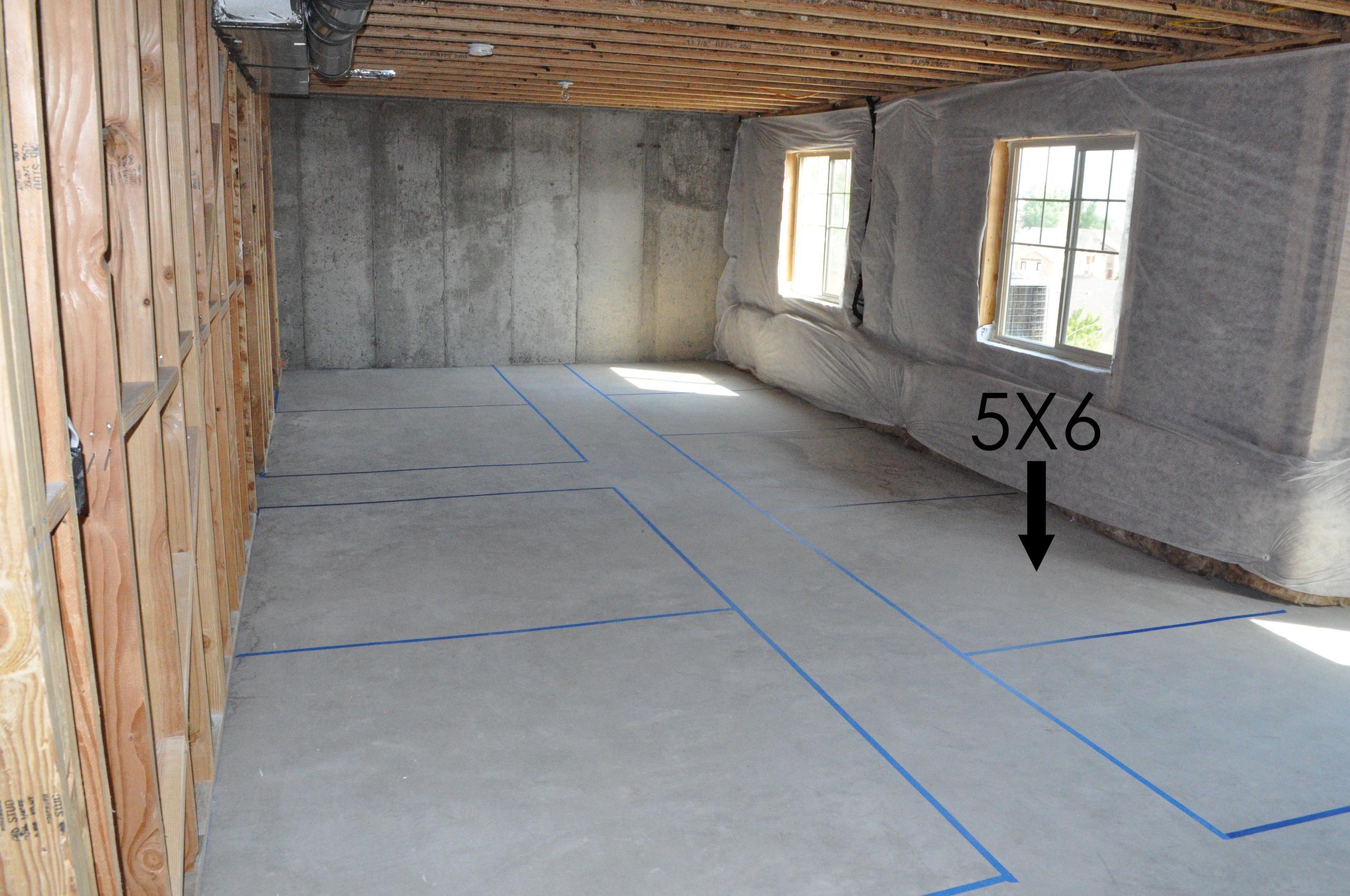 5x6 Basement self storage unit