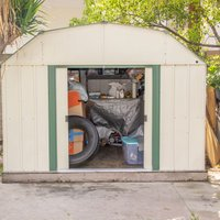 6x10 Shed self storage unit