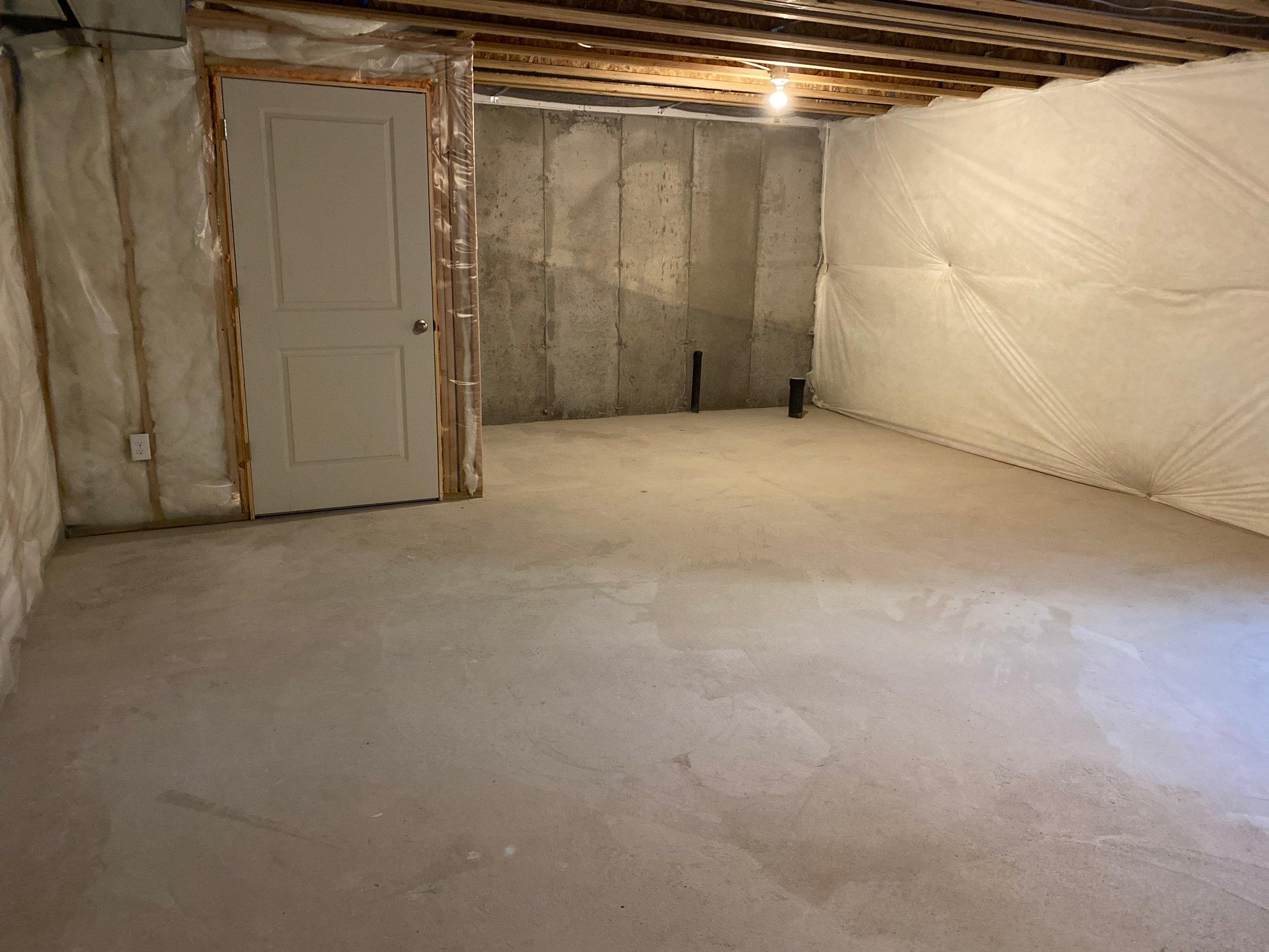 16x15 Basement self storage unit
