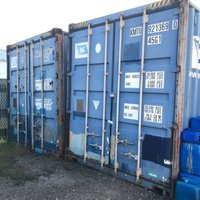 4x4 Shipping Container self storage unit