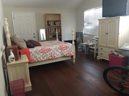 20x26 Bedroom self storage unit