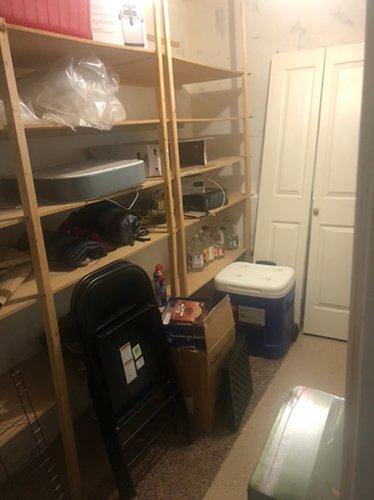 6x10 Basement self storage unit