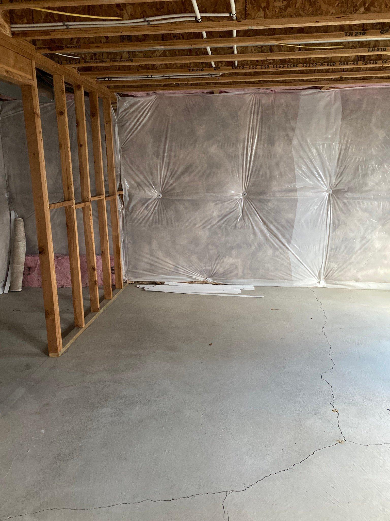 5x10 Basement self storage unit
