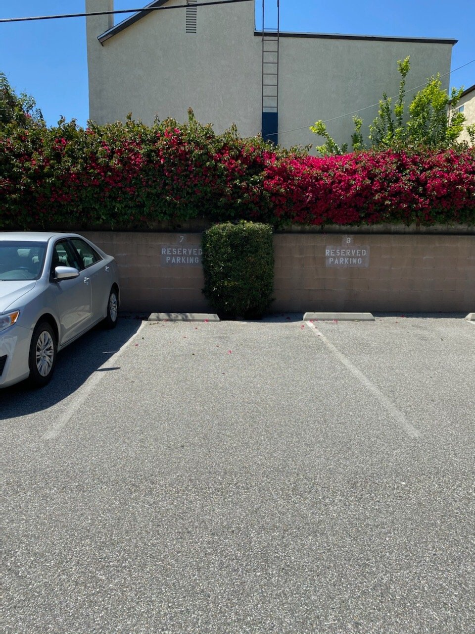 16x8 Parking Lot self storage unit