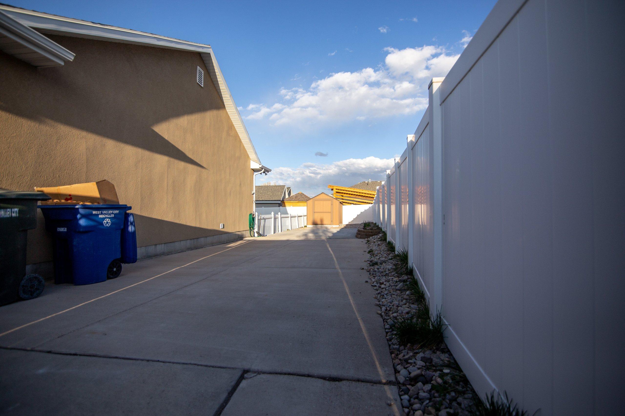 60x15 Driveway self storage unit
