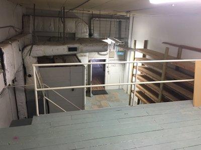 5x5 Warehouse self storage unit