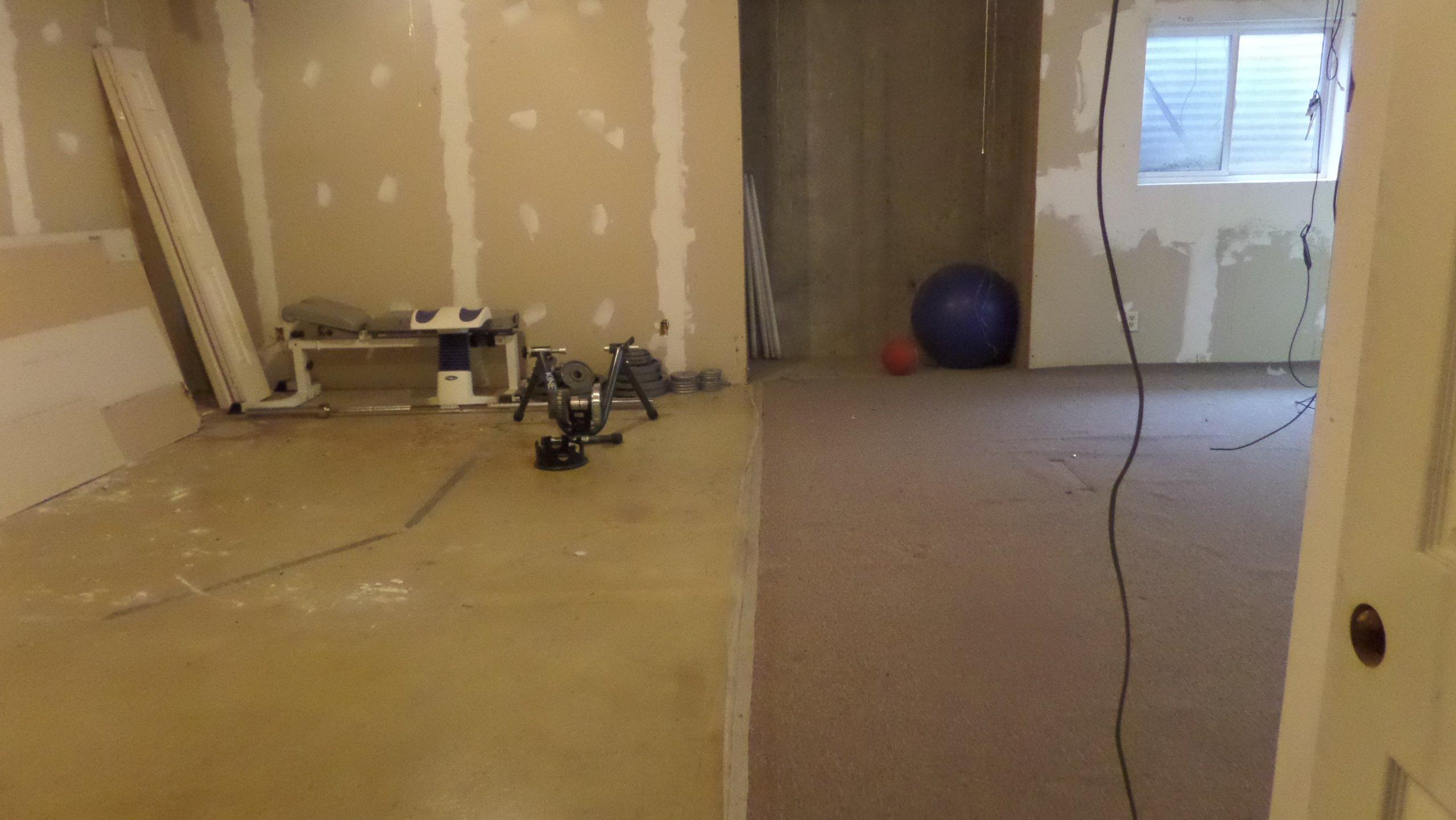19x14 Basement self storage unit