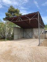 22x20 Carport self storage unit