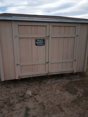 660x66 Unpaved Lot self storage unit