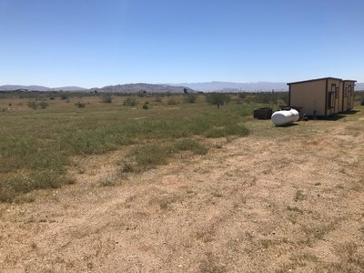 80x12 Unpaved Lot self storage unit
