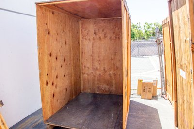 7x8 Warehouse self storage unit